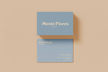 Mente Flores business cards