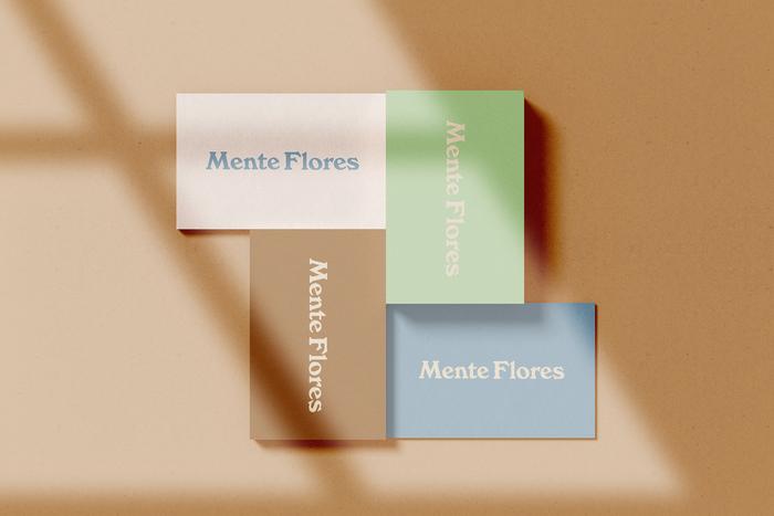 Mente Flores business cards 2