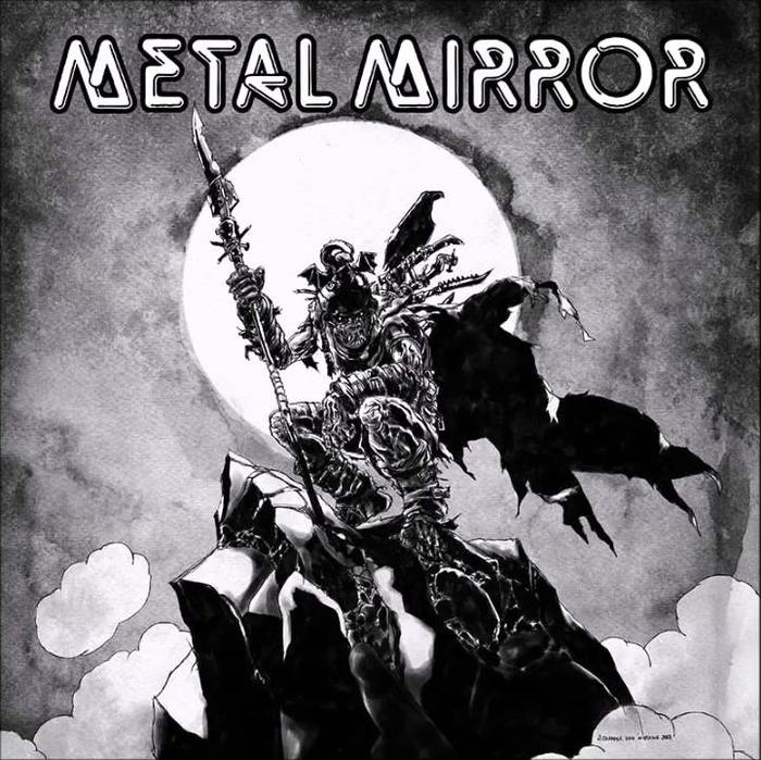 "Metal Mirror, ""Rock an' Roll Ain't Never Gonna Leave Us"" single 1980"