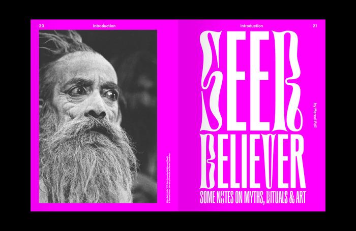 """Foam magazine #51, """"Seer/believer"""", 2018 4"""