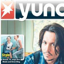<cite>Yuno</cite> magazine logo