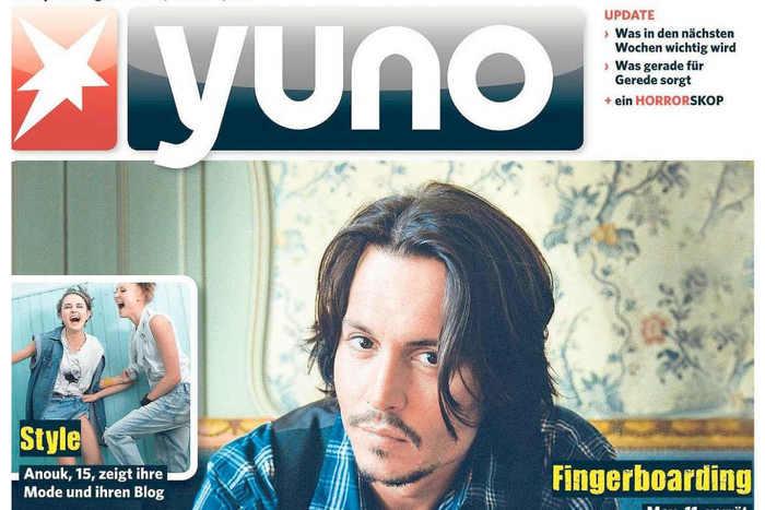 Yuno magazine logo 2