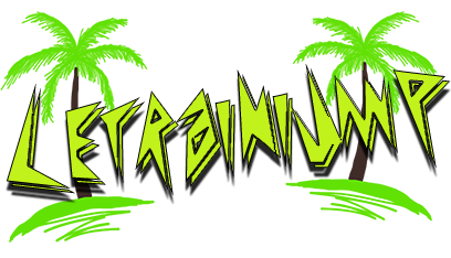 Older variant with palm trees.