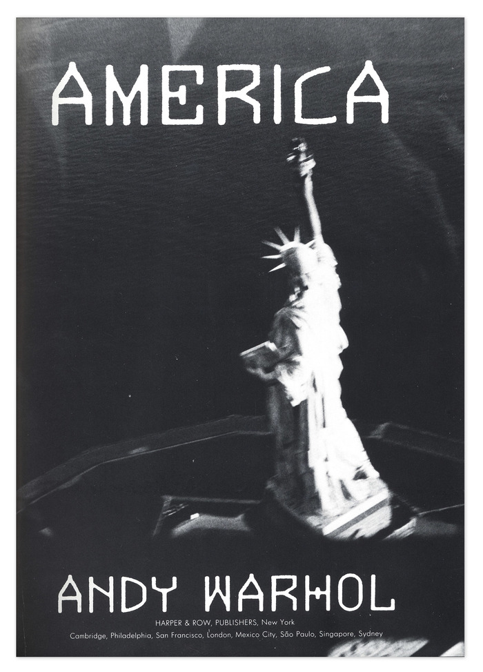 America by Andy Warhol 4