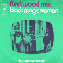 "Fleetwood Mac – ""Black Magic Woman"" Dutch single sleeve"