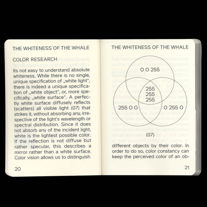 The whiteness of the Whale 2
