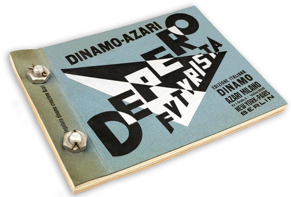 Depero Futurista, Dinamo-Azari - Fonts In Use