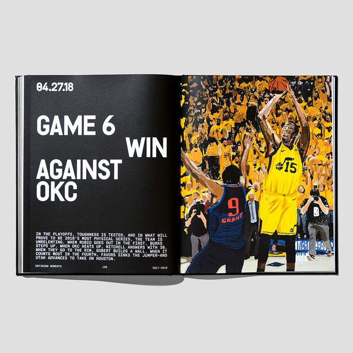 Utah Jazz Yearbook 2017–2018 7
