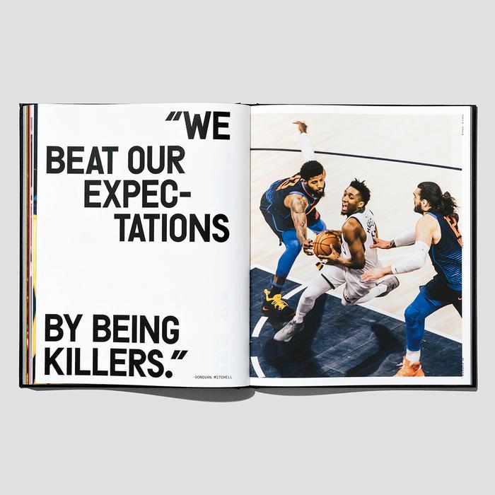Utah Jazz Yearbook 2017–2018 6