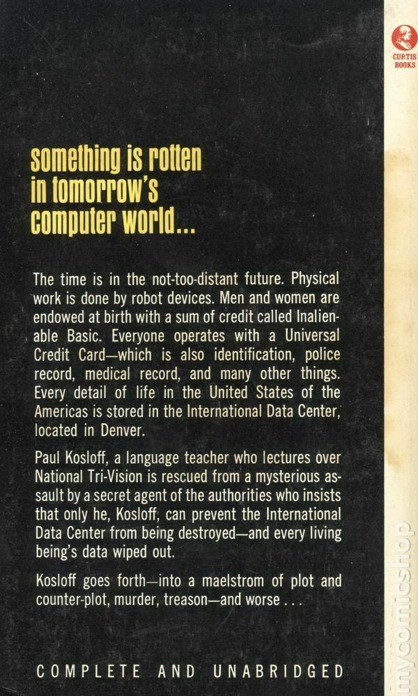 Computer World by Mack Reynolds (Curtis Books paperback) 2
