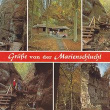 Marienschlucht postcard