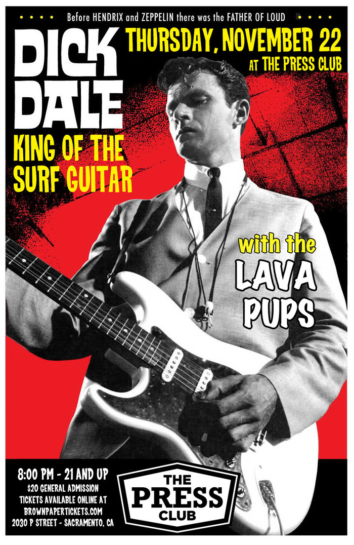 Dick Dale at The Press Club 1