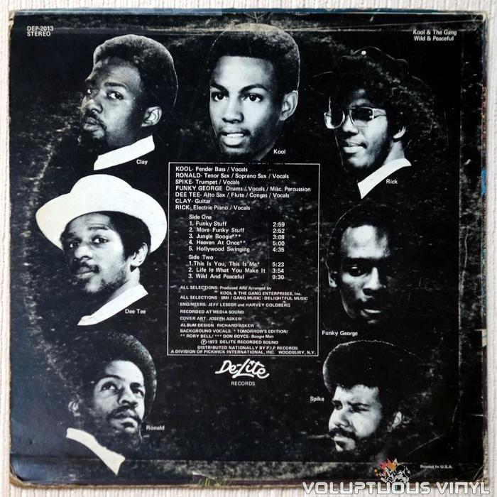 Kool & The Gang – Wild and Peaceful 2