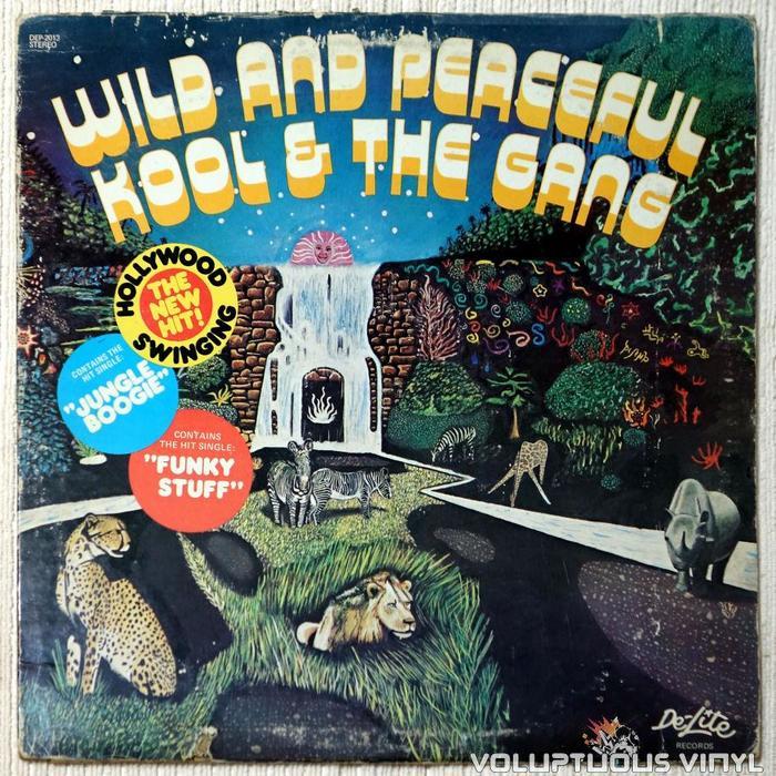 Wild and Peaceful – Kool & The Gang 1