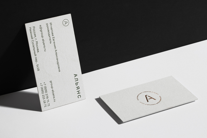 Alliance website and stationery 1