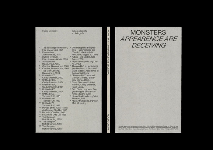 Monsters. Appearence are deceiving 2