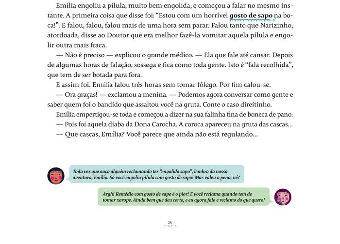 Reinações de Narizinho – Monteiro Lobato (Companhia das Letrinhas, 2019) 6