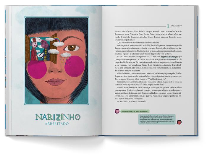 Reinações de Narizinho – Monteiro Lobato (Companhia das Letrinhas, 2019) 4