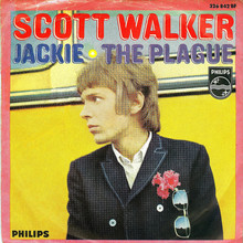 "Scott Walker – ""Jackie"" / ""The Plague"" German single cover"