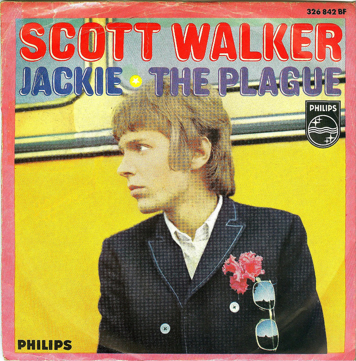 "Scott Walker – ""Jackie"" / ""The Plague"" German single cover"
