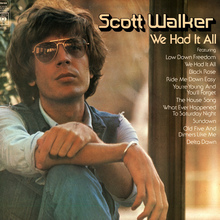 Scott Walker – <cite>We Had It All</cite> album art