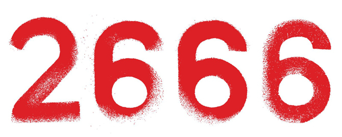 2666 by Roberto Bolaño (Farrar, Straus and Giroux / Picador) 10