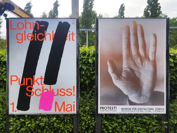 """Lohngleichheit Punkt. Schluss!"" equal pay campaign 4"