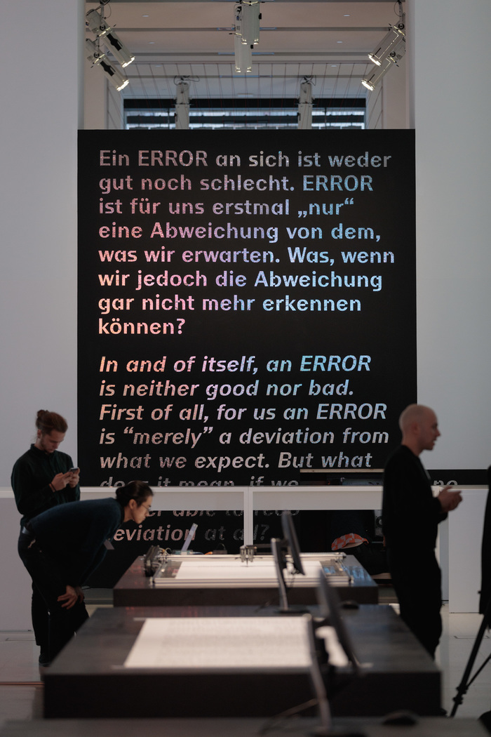 Error – The Art of Imperfection, Ars Electronica Berlin 6