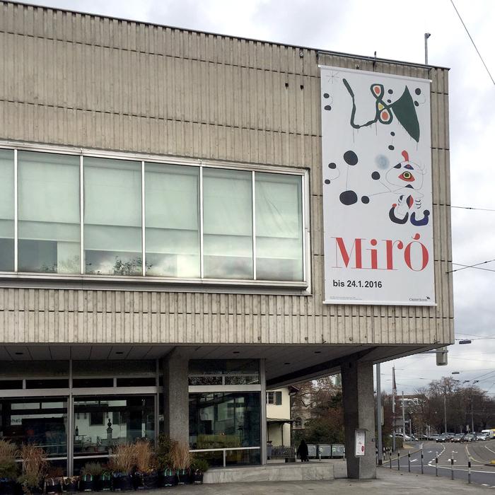 """""""Joan Miró. Wall, Frieze, Mural"""", Kunsthaus Zürich 3"""