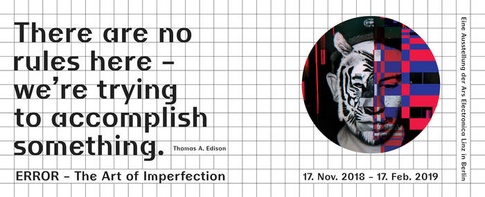 Error – The Art of Imperfection, Ars Electronica Berlin 12