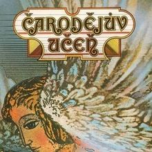 <cite>Čarodějův učeň</cite> (1977) Czechoslovak movie poster