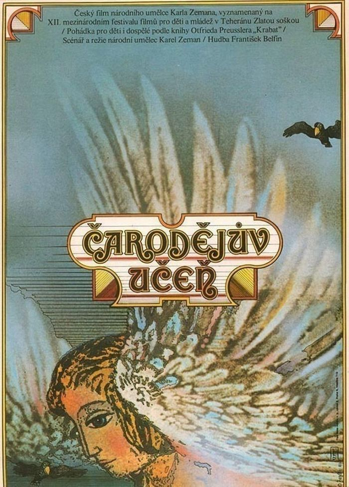 Čarodějův učeň (1977) Czechoslovak movie poster