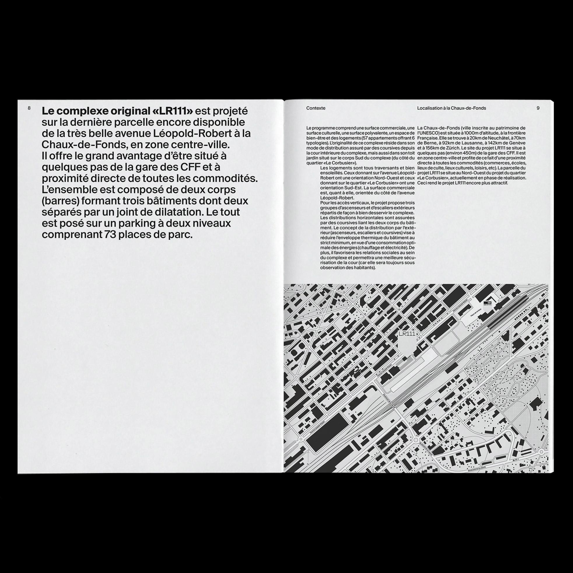 LR111 brochure - Fonts In Use