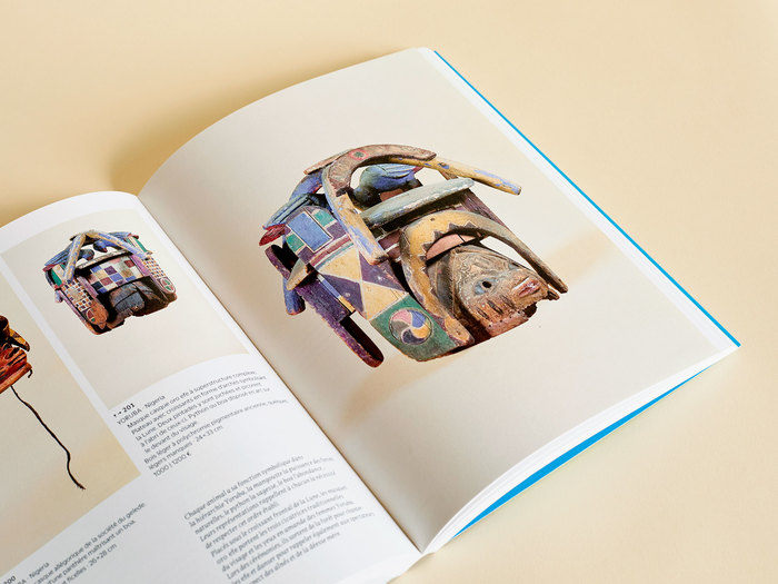 Danquin was particularly fond of Gelede masks from the Yoruba tribe. A whole section of the book is dedicated to them.