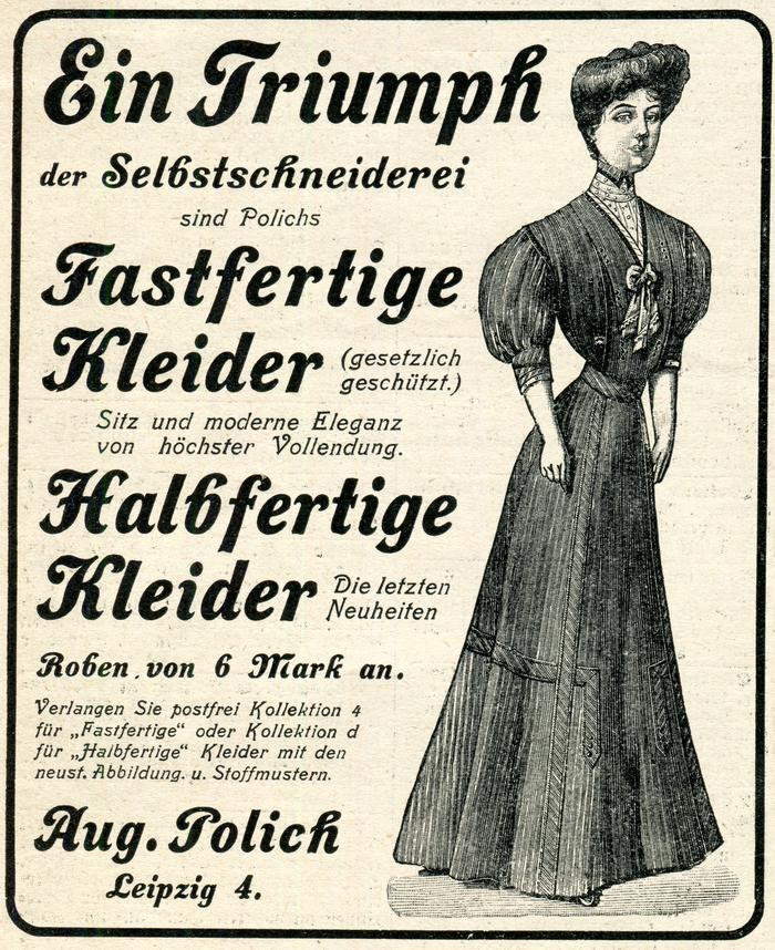 August Polich advertisement