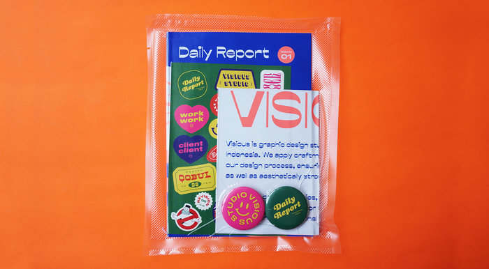 Daily Report magazine Vol. 1 1