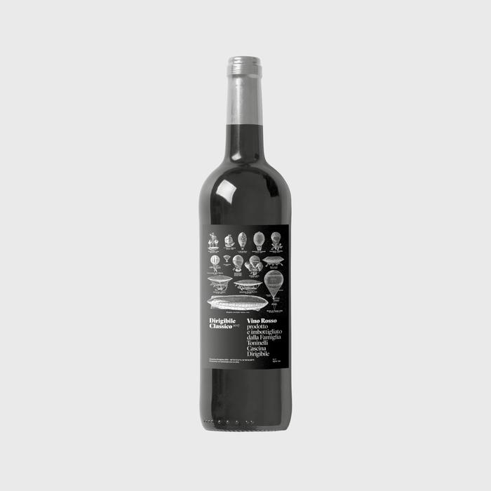 Dirigibile Classico 2017 wine label 1