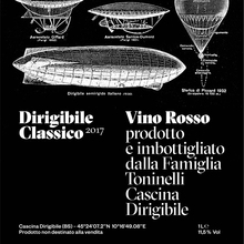 Dirigibile Classico 2017 wine label