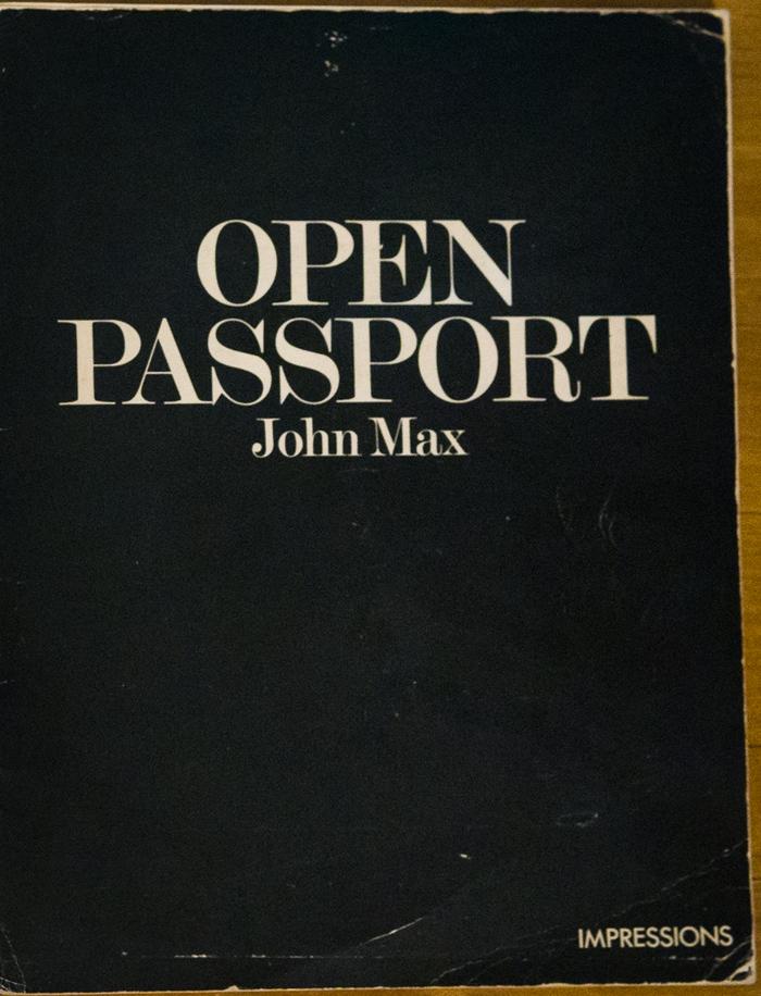 Open Passport – John Max
