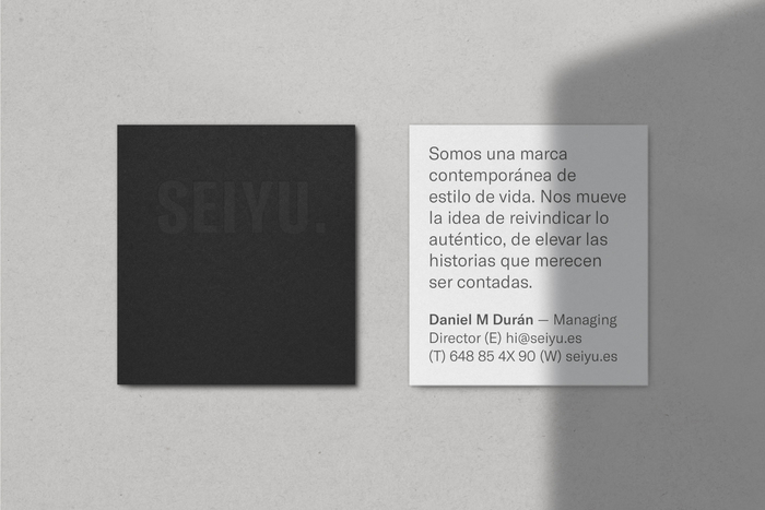 Business cards.