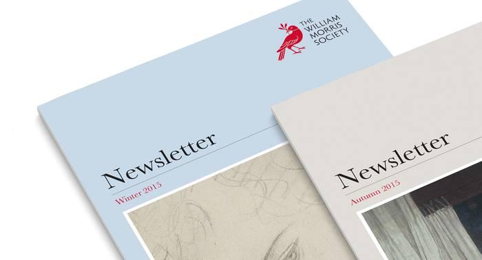 The William Morris Society redesign 2