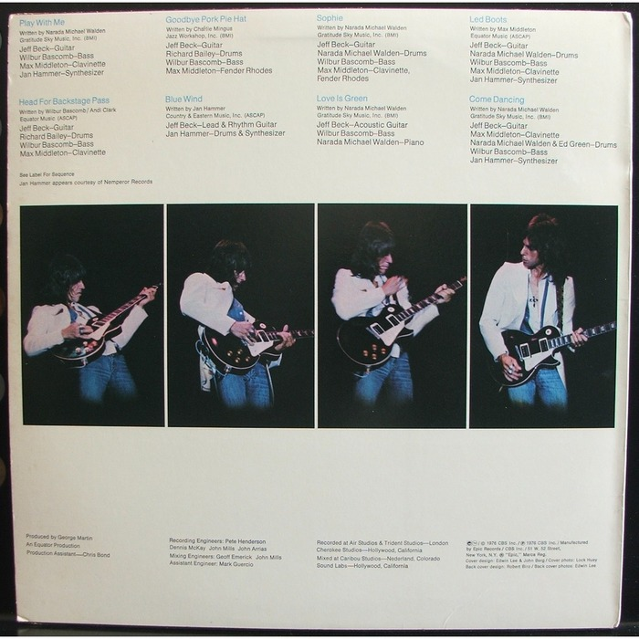Wired – Jeff Beck 2