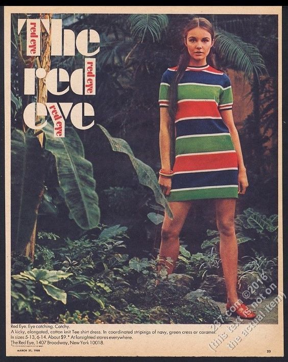 Advertisement in Aileen Fashion Knits, 1968