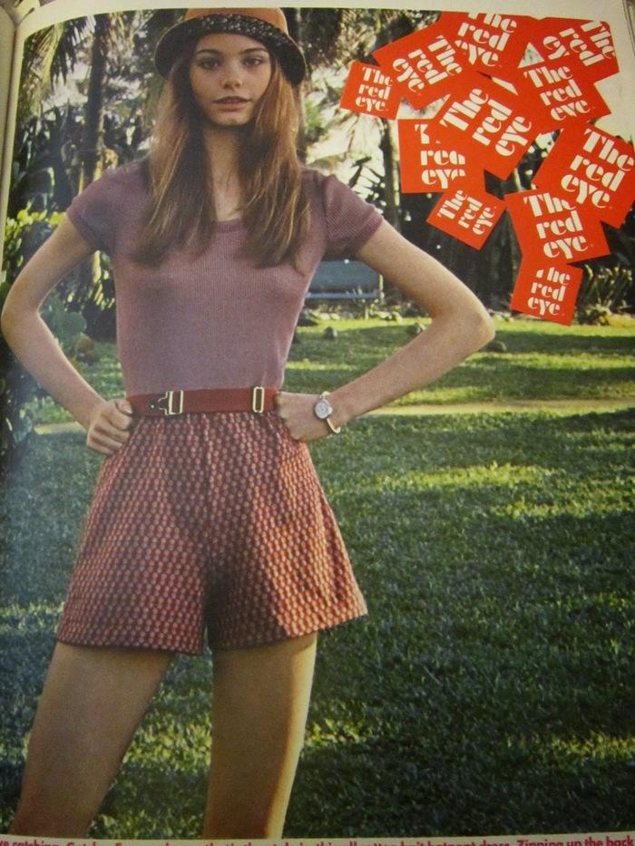Susan Dey, Seventeen magazine 1969.