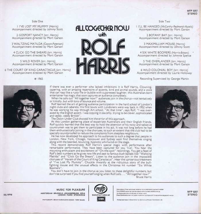All Together Now with Rolf Harris 2