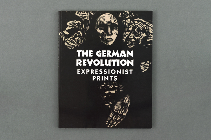 Koch Nueland shown on the front cover, paired with ITC Kabel (Expressionist prints)