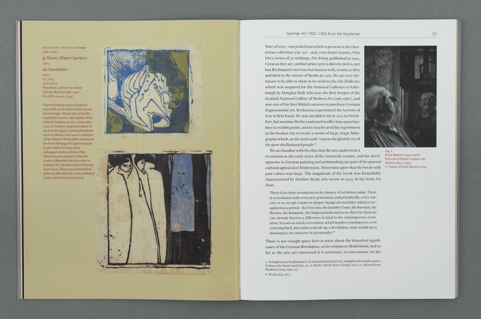 Page spread showing Hawkland for text and Kabel for running head
