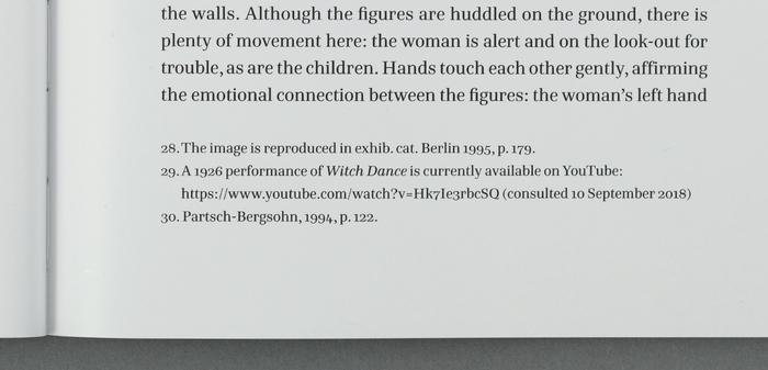 Detail of footnote set in Hawkland