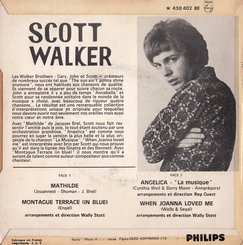 Scott Walker – Mathilde EP - Fonts In Use
