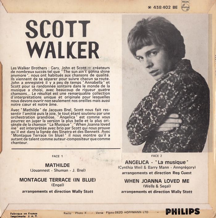Scott Walker – Mathilde EP 2